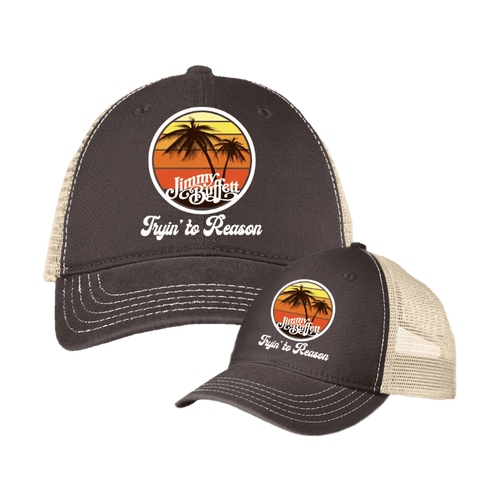 Tryin' To Reason Trucker's Cap Brown