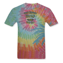 Load image into Gallery viewer, Under The Big Top Tour 2010-2011 Rainbow Tye Dye Tee