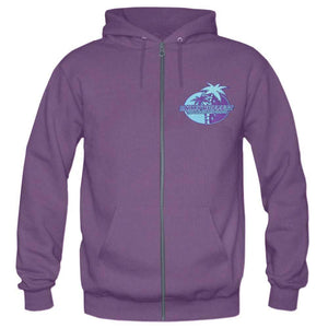 Workin' And Playin' Tour 2015-16 Purple Zip Hoodie