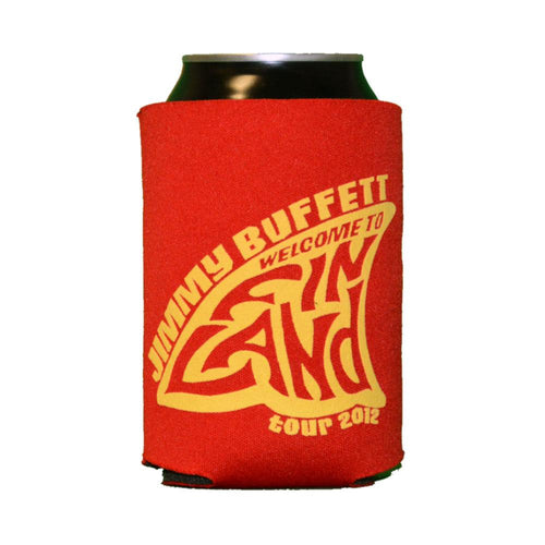 Welcome To Fin Land 2012 Red Can Koozie