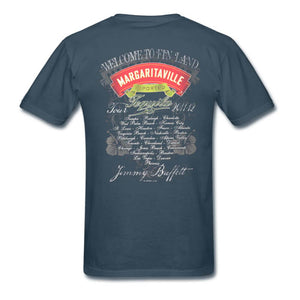 Welcome To Finland Tour 2011-12 Margaritaville Tequila Tee