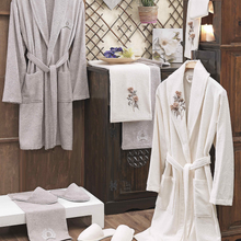 Load image into Gallery viewer, Anamur 3D Bathrobe Set (8 pieces)