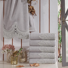 Load image into Gallery viewer, Ottoman Hand Towel Set (6 pieces)