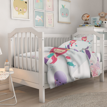 Load image into Gallery viewer, Mermaid Baby Bedding Set