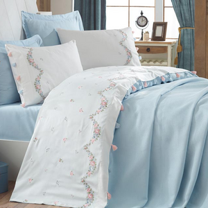 Kas Bed Linen & Blanket (6 pieces)