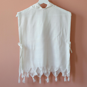 baby poncho made of Turkish bamboo-cotton