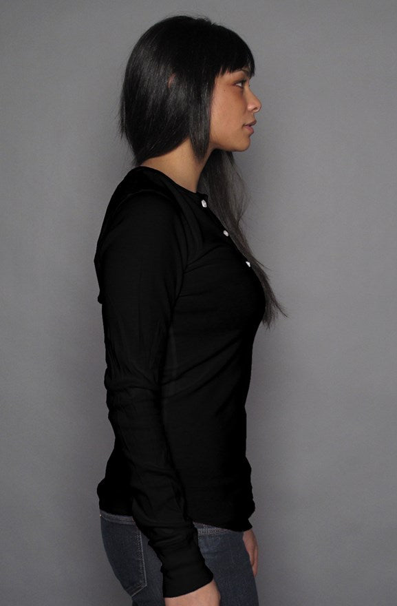 Women's Henley Tee - PHASE4US