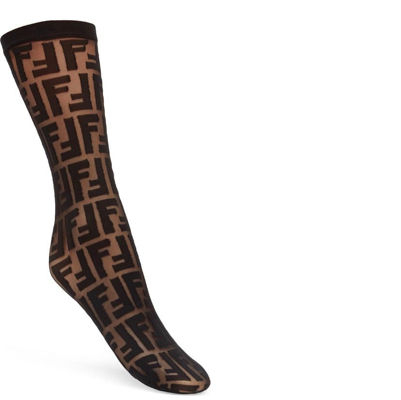 Fendi Inspired Sock