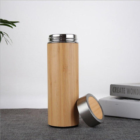 Zero-Waste Bamboo Thermos Bottle - A Sustainable You