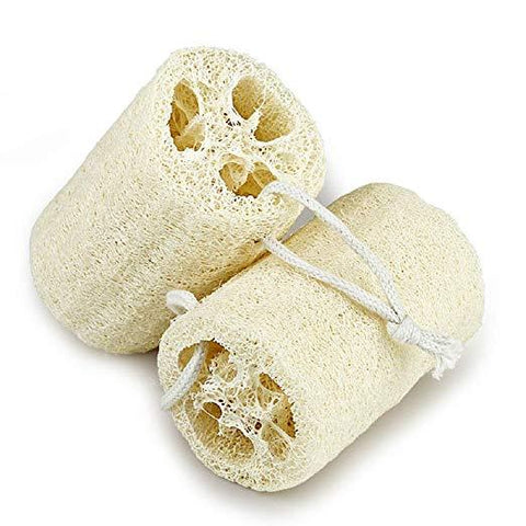 Zero Waste Biodegradable Loofah Sponge - 2 Pcs. Set - A Sustainable You