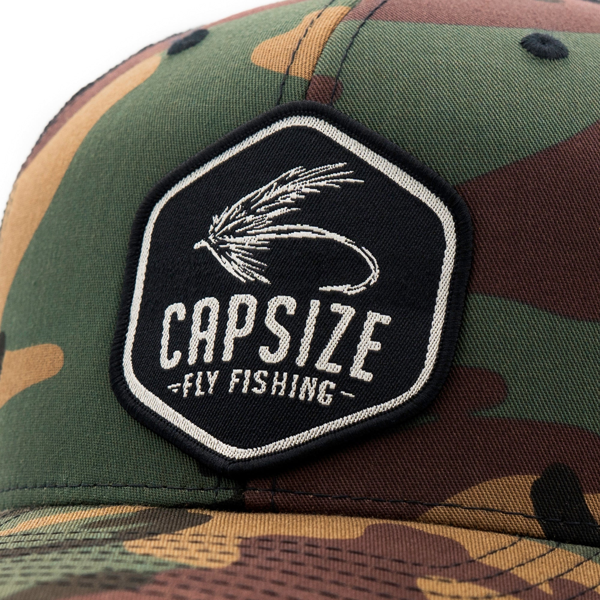 Camo Fly Fishing Hat