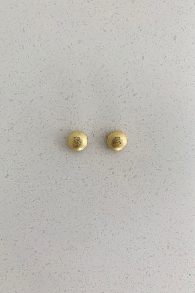 Set of 2 Brushed Gold Magnetic Hijab Pins