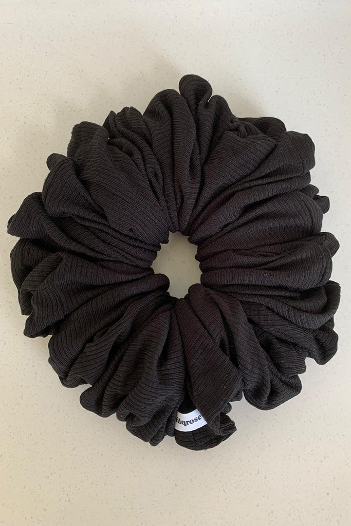 Black Hijab Scrunchie