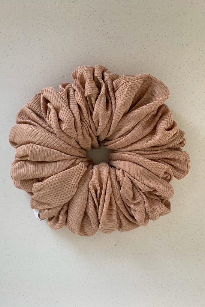 Blush Peach Hijab Scrunchie
