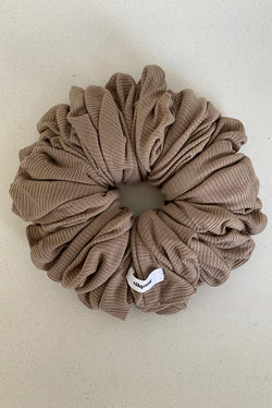 Light Coffee Hijab Scrunchie