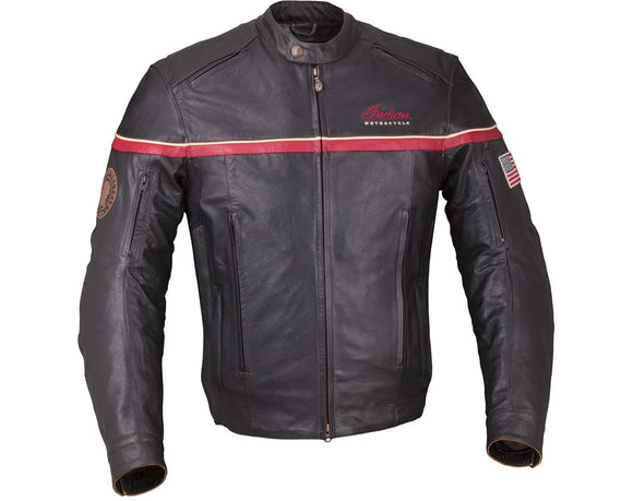 MEN'S FREEWAY JACKET - BLACK LEATHER