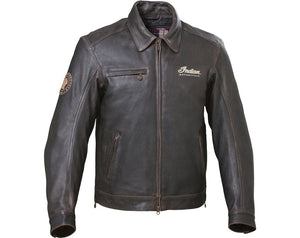 MENS CLASSIC LEATHER RIDING  JACKET 2