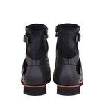 ENGINEER RIDING BOOTS MENS- BLACK LEATHER