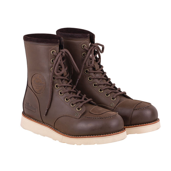 MEN'S CLASSIC MOC BOOT- BROWN