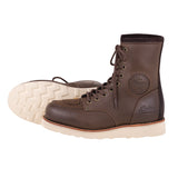 MEN'S CLASSIC MOC RIDING PROTECTIVE BOOT- BROWN LEATHER