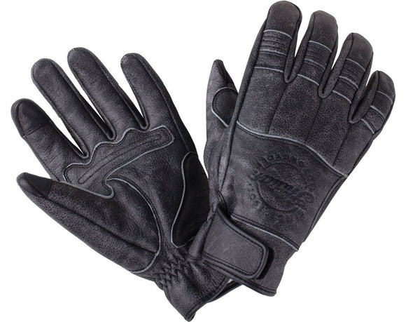 Men's Leather Hedstrom Gloves, Black