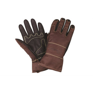 TWO TONE GLOVE - LEATHER