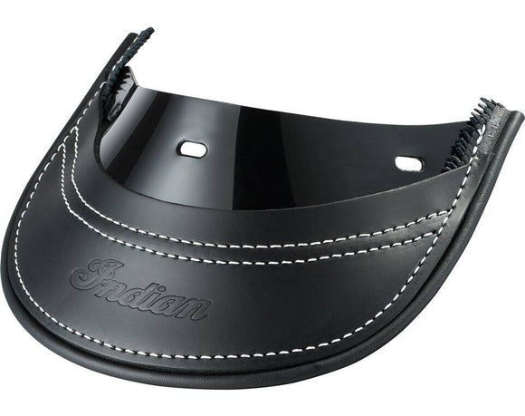 Genuine Leather Rear Mud Flap - Black