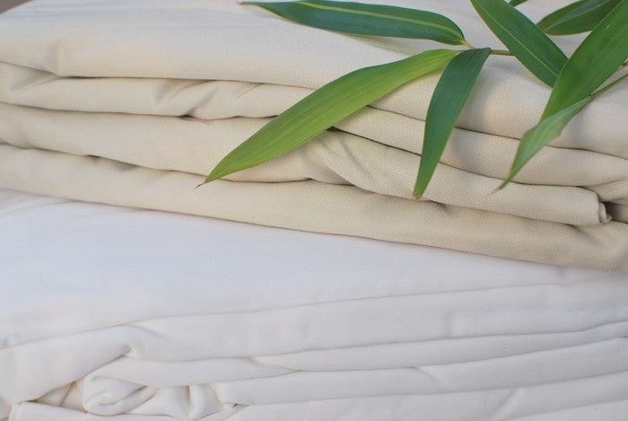 Bamboo Fitted Sheets - Snow Blossom