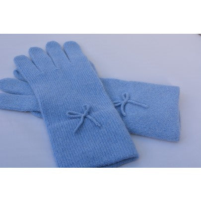 Pure Cashmere Gloves - Short - Snow Blossom