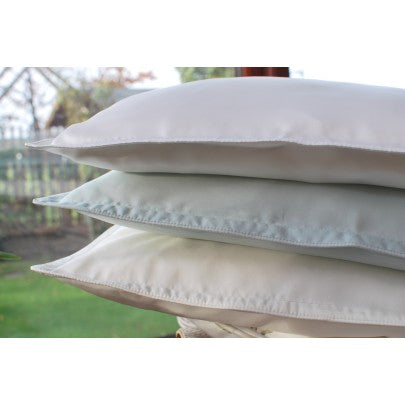 Travel Silk Filled Pillow Encased With Cotton - Snow Blossom Limited