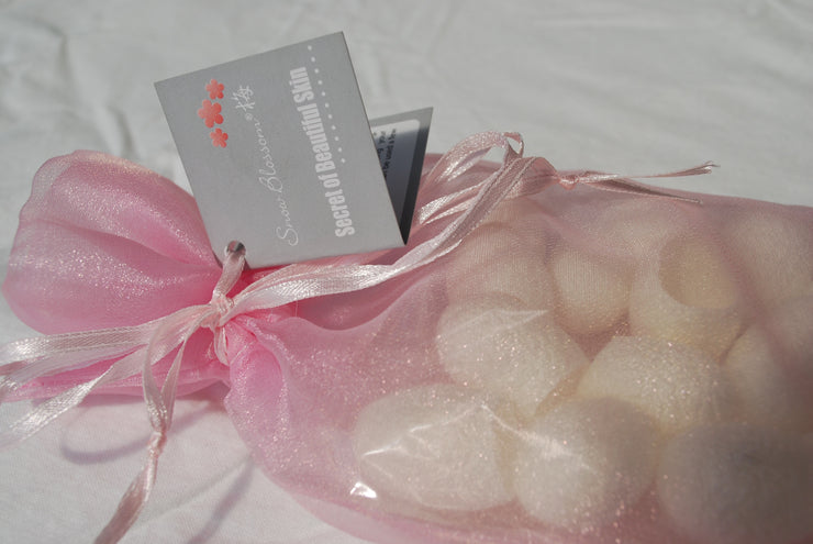 Beauty Silk Cocoons - Snow Blossom