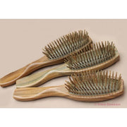 Vera Wood Hair Brush - Snow Blossom