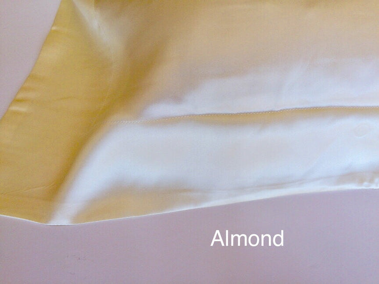 Pure Silk Pillowcases - Charmeuse - Snow Blossom