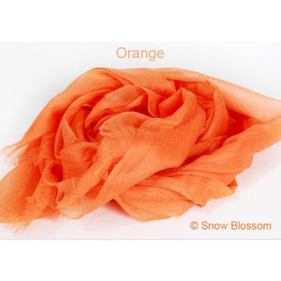 Deluxe Super Fine Cashmere Shawl/Scarves - Snow Blossom Limited