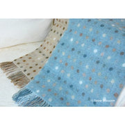Pure New Wool Blanket Spots - Snow Blossom Limited