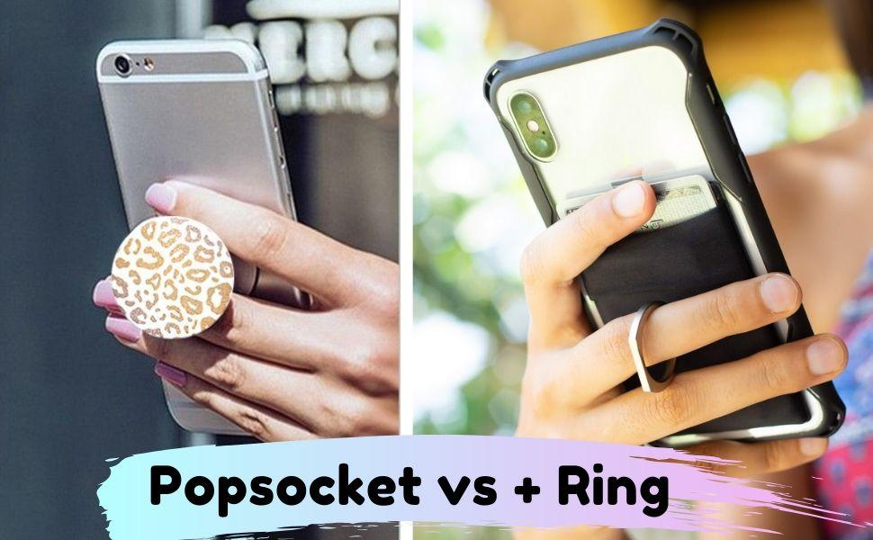 Popsockets vs Ring  What's the Best Phone Grip? | Review | The StickyWallet