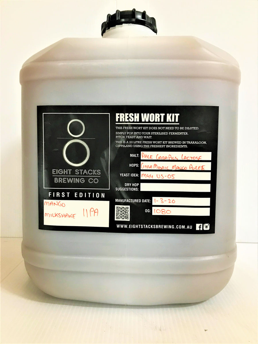 Eight Stacks - Mango Milkshake IIPA - Fresh Wort Kit
