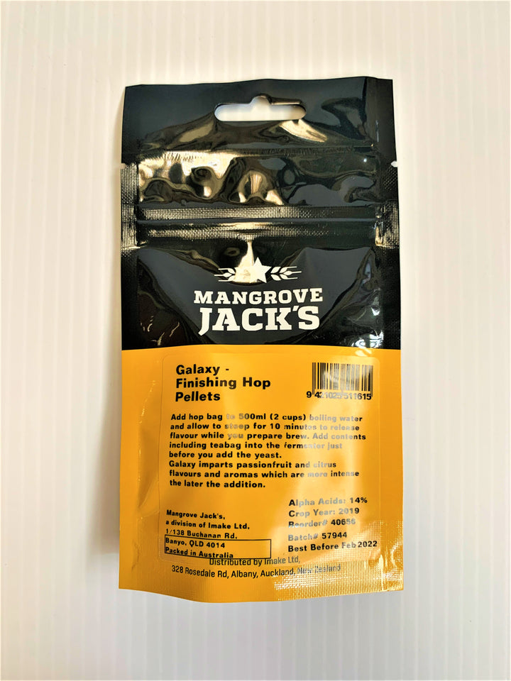 Mangrove Jack's - Finishing Hops - Galaxy 15g
