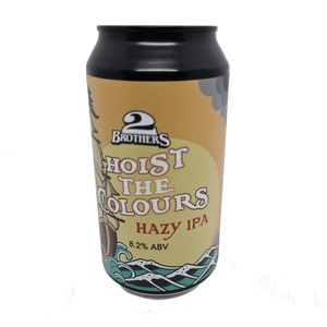 2 Brothers - Hoist The Colours Hazy IPA 375ml Can