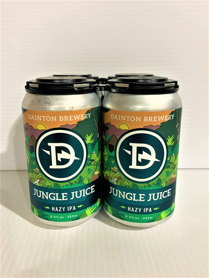 Dainton - Jungle Juice Hazy IPA 355ml Can - 4 Pack