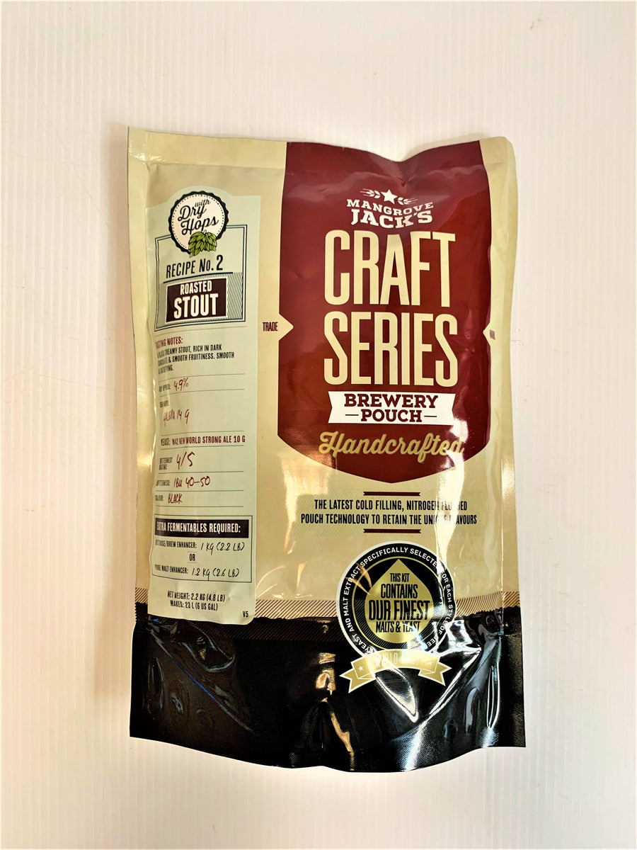 Mangrove Jack's -  Craft Series Roasted Stout with Dry Hops