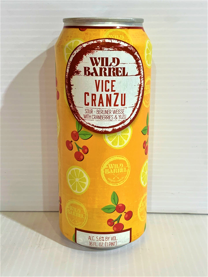 Wild Barrel Brewing - Vice Sour CranZu 473ml Can - Single