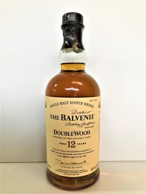The Balvenie - 12 Year Old DoubleWood Scotch Whisky 700mL