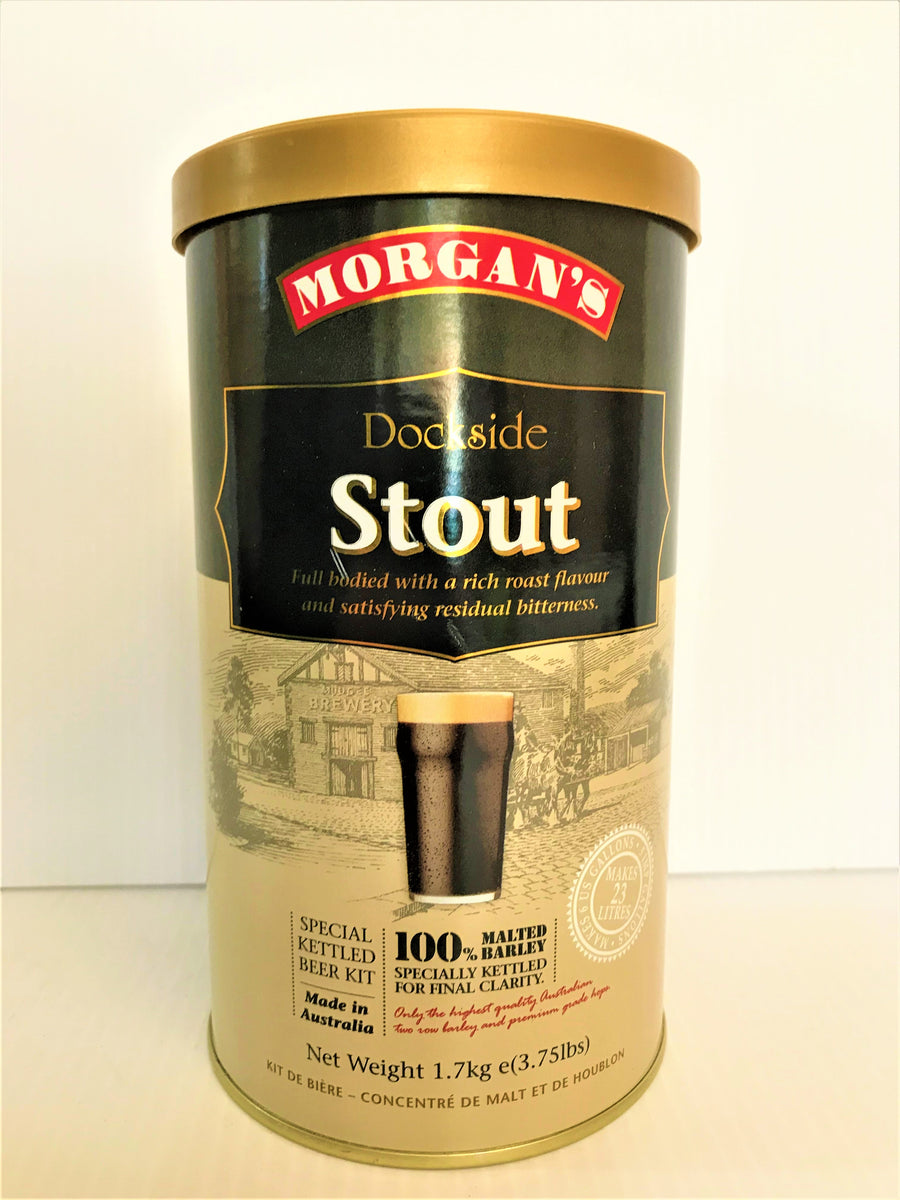 Morgan's - Premium Dockside Stout - 1.7KG
