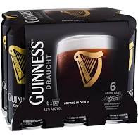 Guinness - Draught Stout 440ml Can - 6 Pack