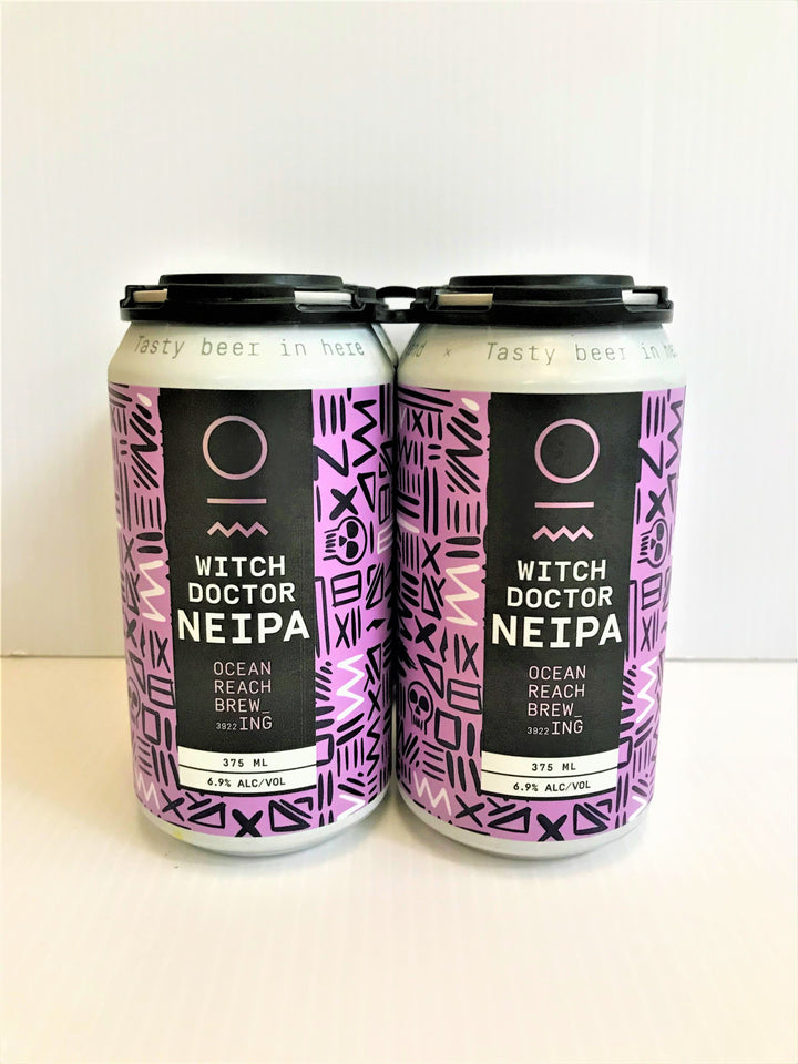 Ocean Reach Brewing - Witch Doctor NEIPA 375ml Can - 4 Pack
