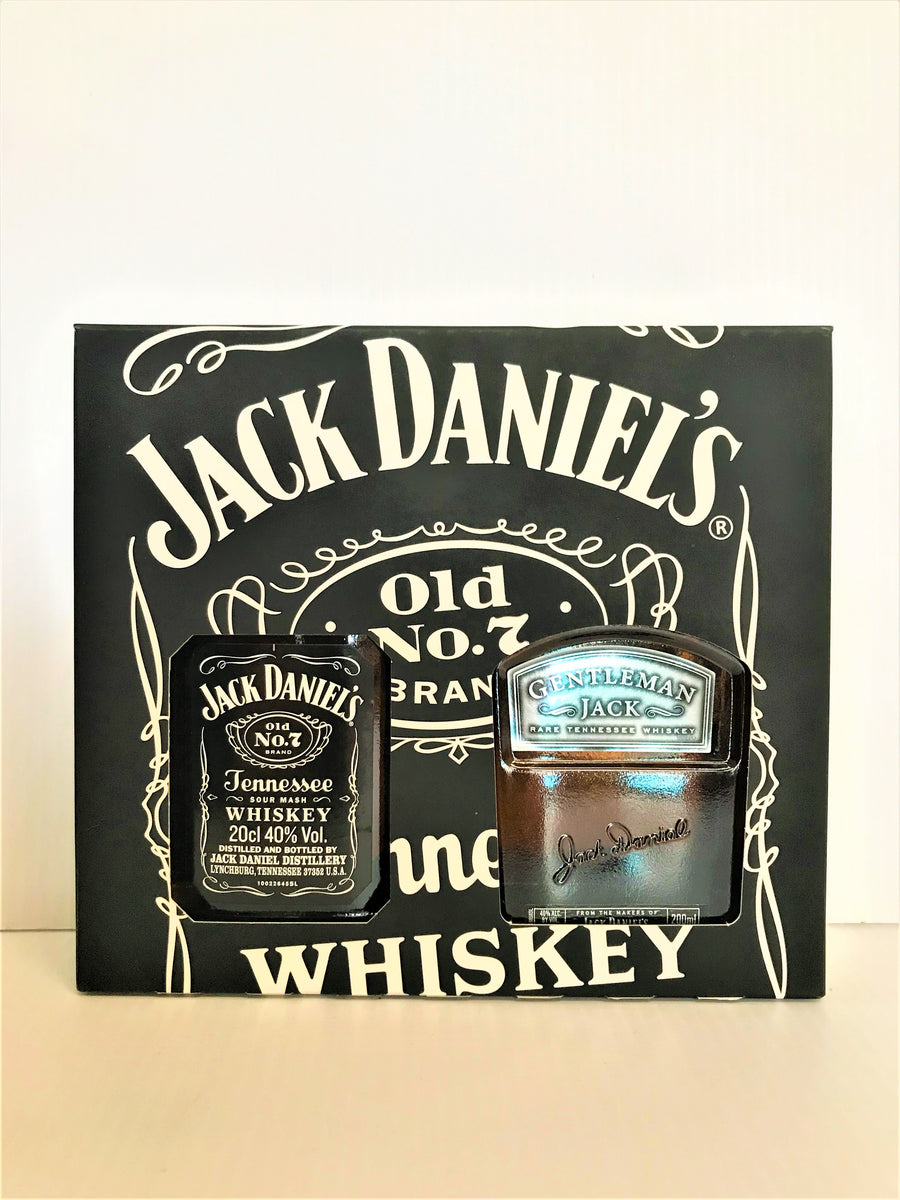 Jack Daniel's Old No.7 and Gentleman Jack - Twin Pack 200mL