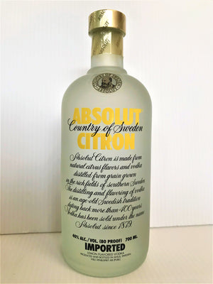 Absolut - (Imported) Citron Vodka 700mL