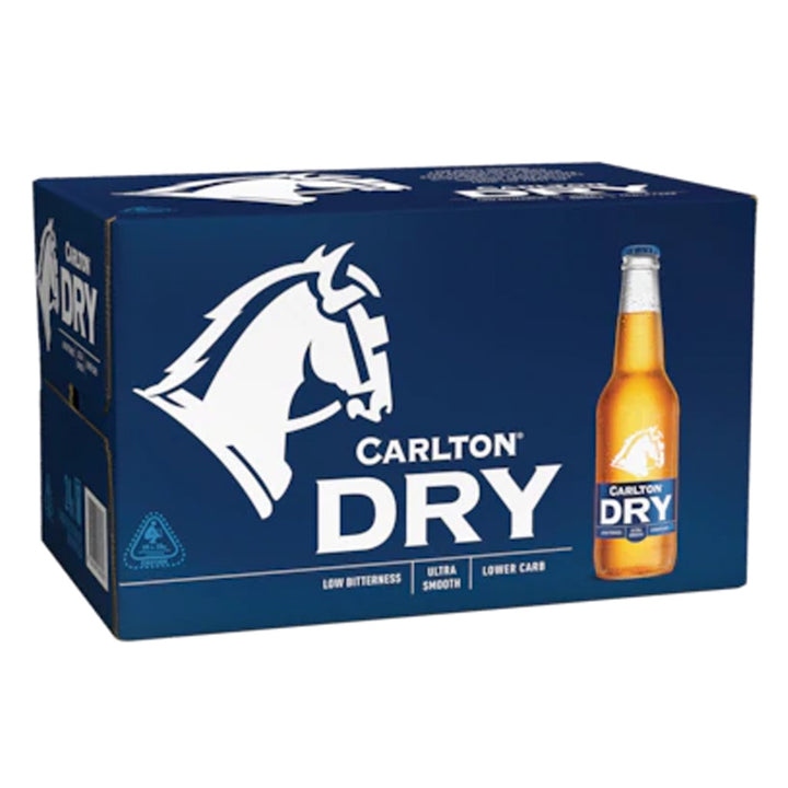 Carlton - Dry 330ml Bottles - Carton