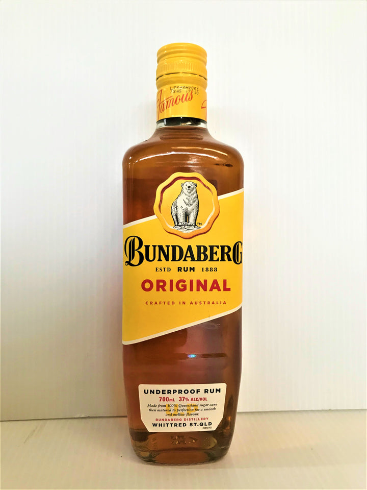 Bundaberg - Underproof Original Rum 700ml